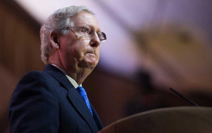 Mitch McConnell Endorses Republican Traitor Liz Cheney
