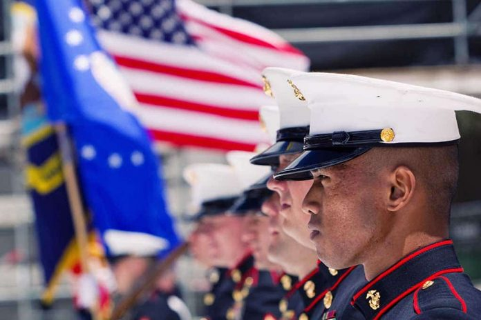 U.S. Marines Stand up for Soldier Punished for Calling for